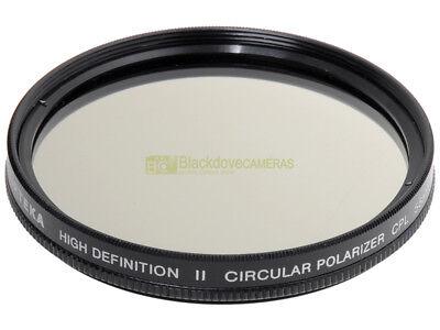 58mm. filtro polarizzatore circolare Opteka High Definition II. Polarizer filter
