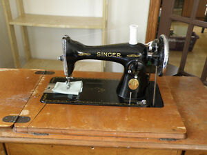Working Treadle Sewing Machine