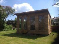 14ft x 8ft summerhouse/ shed/ office/ garden building