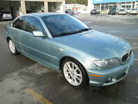 2004 BMW 330CI,no accidents,just certified,new brakes all around