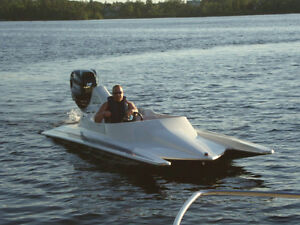 1994 STV ProComp 200hp Mercury Outboard and Trailer
