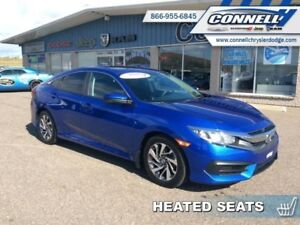 2016 Honda Civic Sedan EX  - Sunroof -  Bluetooth - $118.22 B/W