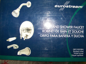 Eurostream Tub and Shower Faucet