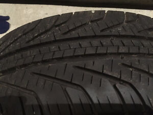 4 Michelin Hydroedge 185/65/r14 85T tires