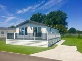 Luxury Lodge Decking Holiday Home