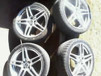 ► ► ► 17in. Mag Wheels 4x100 with Tires ◄ ◄ ◄