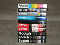 10 VHS Video tapes