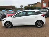2016 Hyundai i20 1.2 SE Blue Drive ( 84ps ) White, 5dr Hatch, **ANY PX WELCOME**
