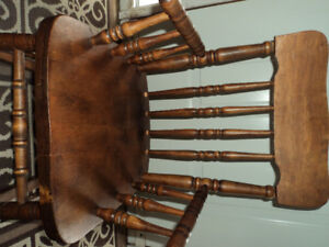 Childrens Vintage Rocking Chair-Reduced to $30.00