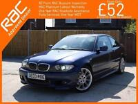 2003 BMW 3 Series 325ci 2.5 Sport Auto 2 Door Coupe Full Leather Harman Kardon A