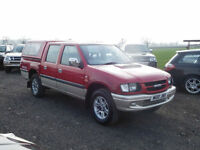 2003 Isuzu Rodeo TF PICK-UP 4 SPORT 2.5 TD LWB Manual ( hilux l200 Navara )