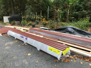 """Hardie Fiber Cement Battens  2 1/2 """"  X  12'  Country Lane Red"""