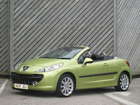 2007 PEUGEOT 207 CC 1.6 THP 150 GT CONVERTIBLE -SUN'S OUT !!!!!