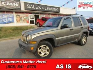 2007 Jeep Liberty Sport  4x4, SPORT, (AS IS - UNCERTIFIED AS TRA