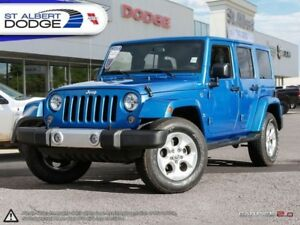 2015 Jeep Wrangler Unlimited Sahara  HEATED SEATS | NAVIGATION |
