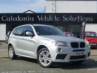 2013 BMW X3 2.0 20d M Sport xDrive 5dr