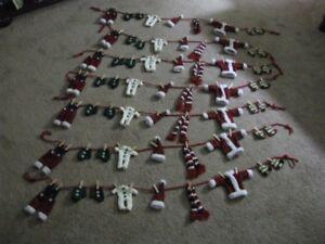 Vintage Avon Santa's Clothes Lines