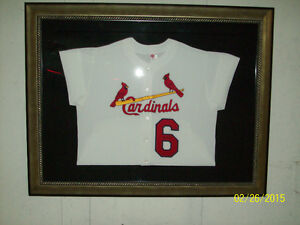 STAN MUSIAL FRAMED JERSEY West Island Greater Montréal image 1