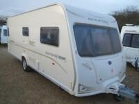 Bailey Senator Indiana Ser 6 2008 4 Berth Fixed Bed Single Axle Touring Caravan