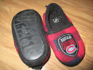 Montreal Canadiens slippers Cornwall Ontario image 2