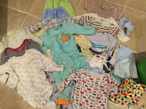Lot of baby boy clothes 3-6 months
