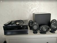 ONKYO and KEF Sound System