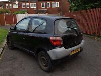 Toyota yaris £200 cheap