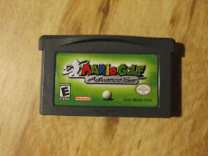 Nintendo Gameboy Advance GBA MARIO GOLF TOUR Vintage Video Game