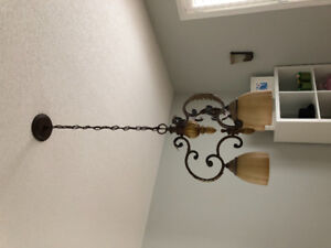 Light fixtures for sale- like new condition, smoke free home