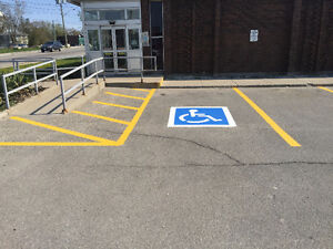 PARKING LOT PAINTING AND PAVEMENT MARKINGS Cambridge Kitchener Area image 4