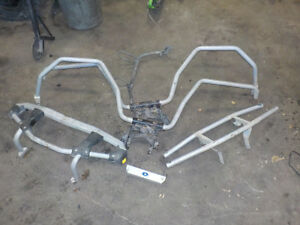 POLARIS SPORTSMAN ROLL BARS FENDER PROTECTOR SET & F&R BUMPERS