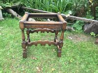 Wooden stool - frame only £5