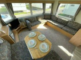 8 berth static caravan for sale at trecco bay / FREE 2021 PITCH FEE