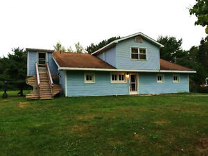 House for rent on beautiful acreage