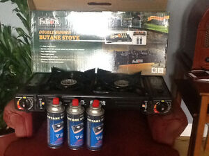 Double Burner Butane stove