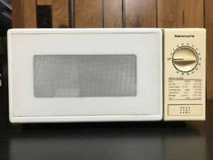 Small Countertop Microwave Good Condition