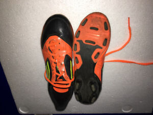 Addidas soccer shoes - youth size 2