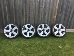 Audi 19 rims and tires