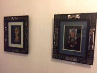 Set of African Art Works