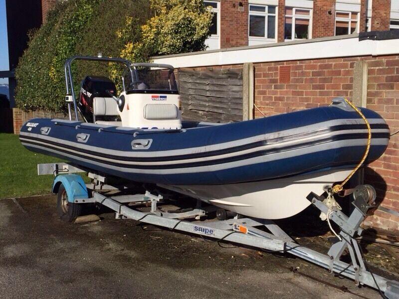 Valiant V 520 Rigid Hull Inflatable Boat R I B 5 2m