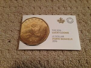 2016 $5 LUCKY LOONIE SET - SOLD OUT FROM CANADIAN MINT