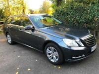 2013 13 Mercedes E220 CDI 175 Bhp BlueEFFICIENCY 7G Tronic Plus SAT NAV ESTATE