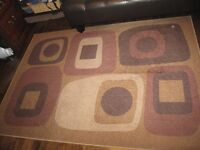 Area Rug and cushions