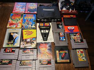 Classic video game/Console lot - NES, SNES, N64, Sega Genesis