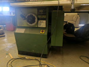 Busy bee mbs250 table saw with sliding arm
