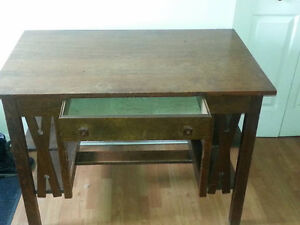 Antique Arts and Crafts Library Table