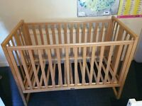 Like-New Mothercare cot