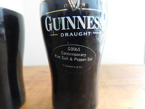 Vintage Guinness Salt and Pepper Shakers Kitchener / Waterloo Kitchener Area image 3