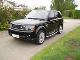 2010 RANGE ROVER SPORT SDV6 3.0 HSE AUTOMATIC,VERY HIGH SPEC CAR, F/S/HISTORY