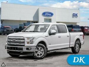 2017 Ford F-150 Lariat  Max Tow w/Leather, Moonroof, Nav!